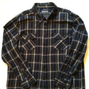 Mens Plaid Shirt XXXL